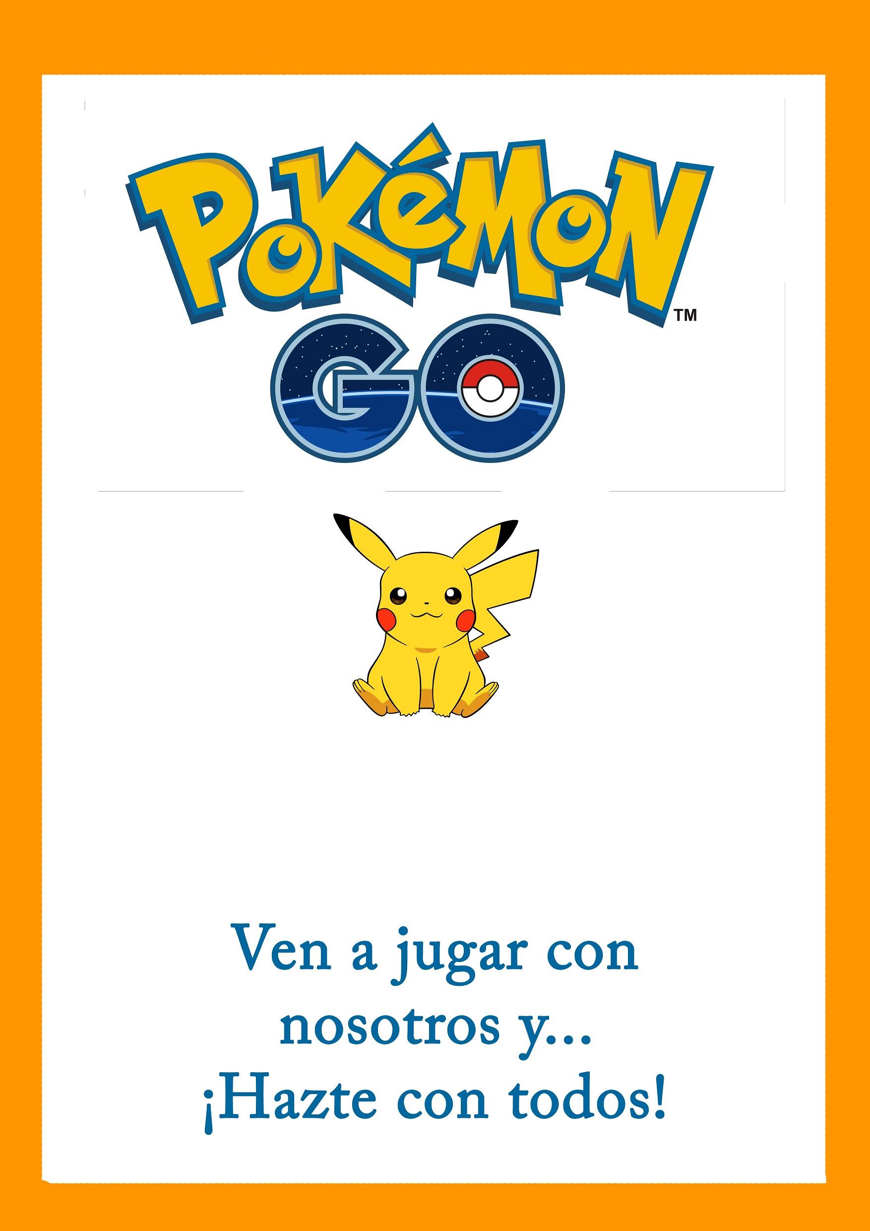 Cartel Juego de pokemon